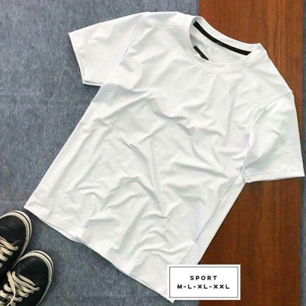 Áo thun nam AP màu trắng