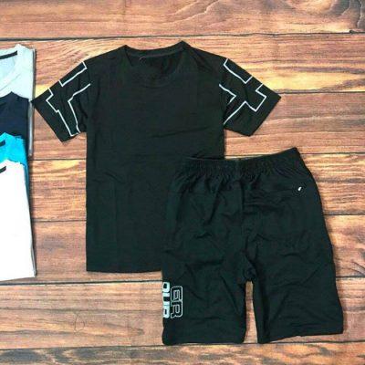 Set đồ bộ thể thao nam bao gồm quần và áo 1