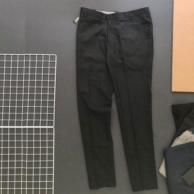Sỉ sll quần tây sọc chất liệu kate silk siêu đẹp và chất lượng đen