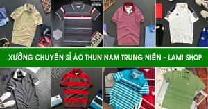 Lami Shop xưởng chuyên sỉ áo thun nam trung niên