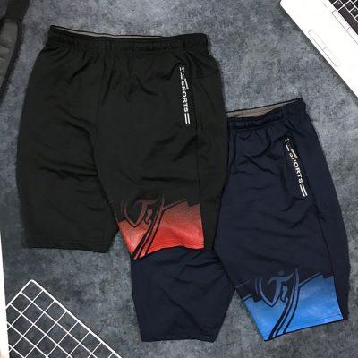 Sỉ quần short nam thể thao Sport cách điệu sắc màu ở ống phải